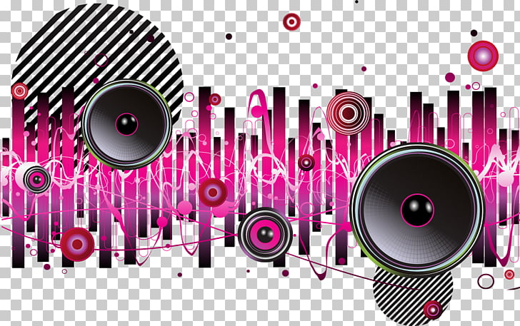 Background music Melody, Dynamic horn melody background.