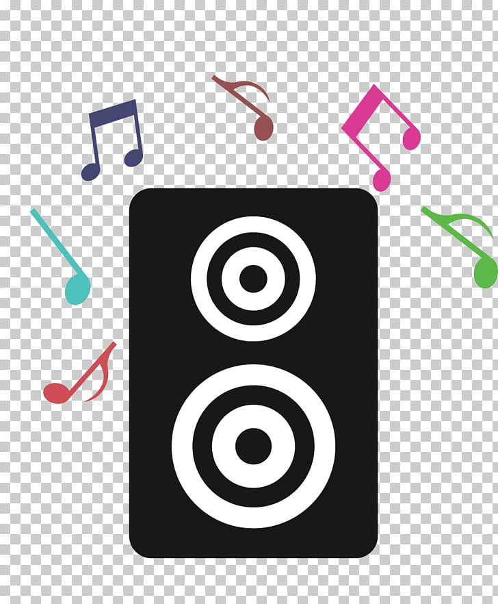 Music festival Icon, Speakers PNG clipart.