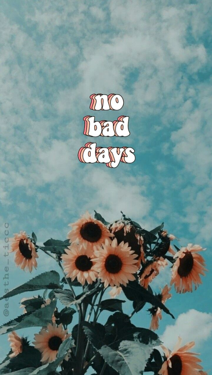 No bad days!! Plz follow and use the super aesthetic.