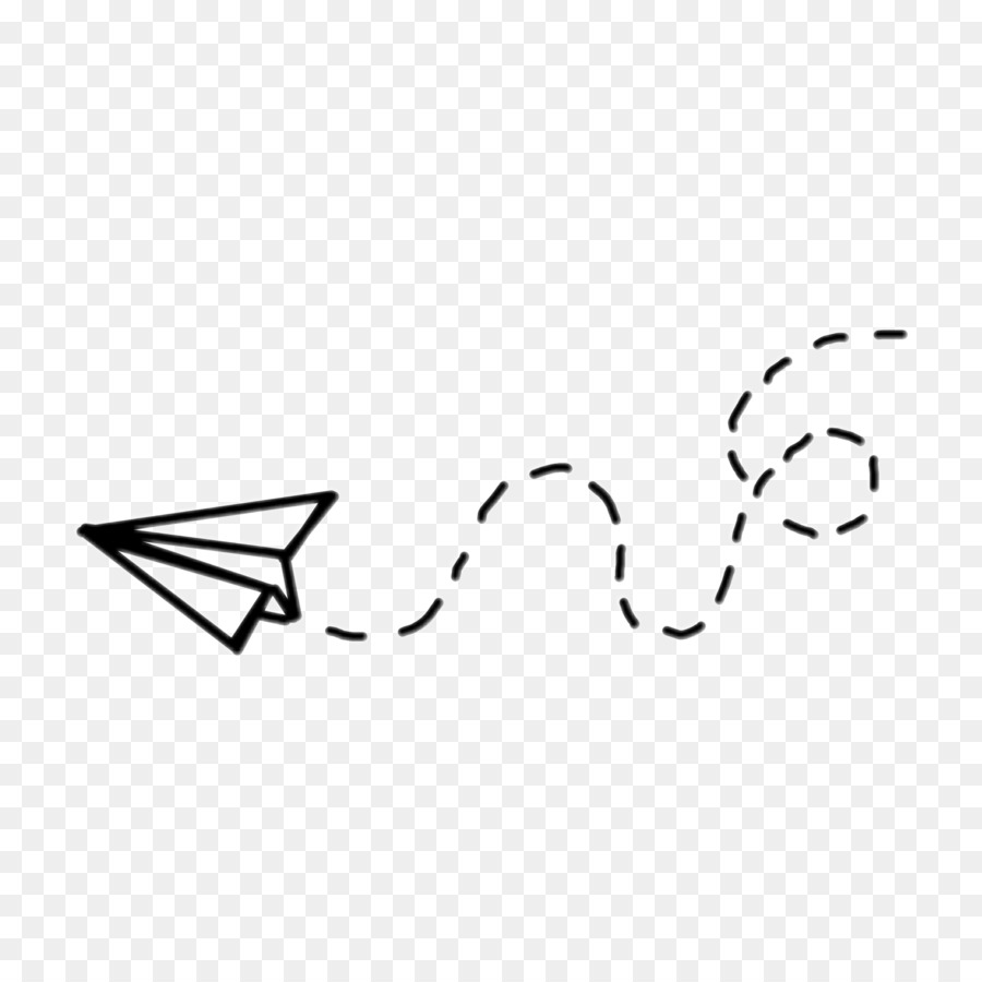 Paper Airplane Drawing.