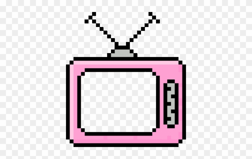 Colorful Retro Aesthetic Png Pastel Television.