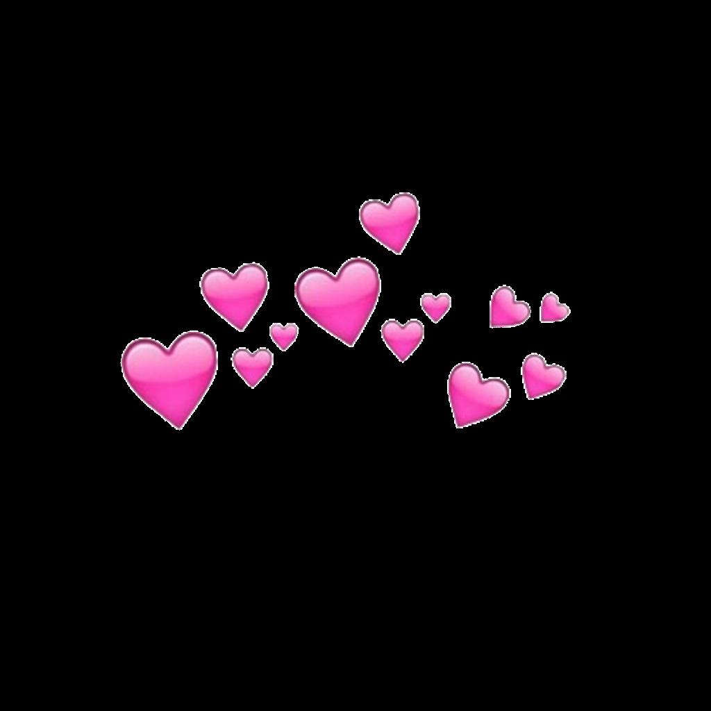 pink #heart #crown #aesthetic #tumblr #snapchat #freetoedit #remixit.
