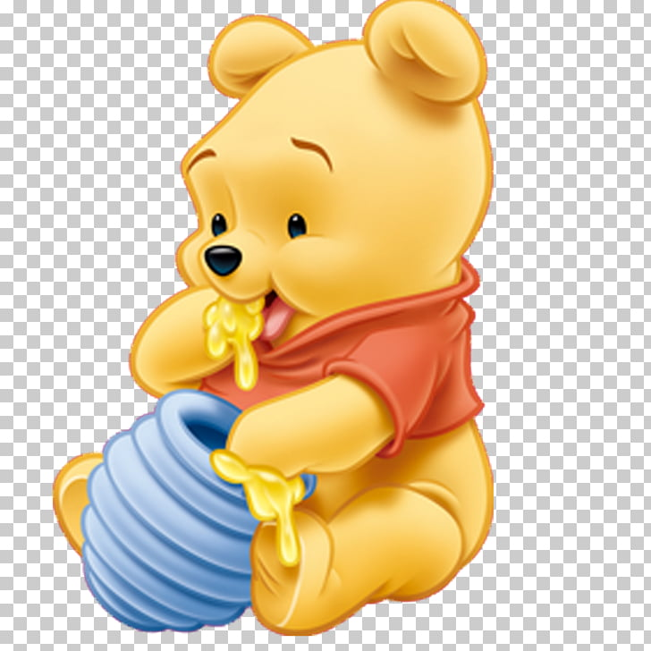 Winnie Pooh PNG clipart.