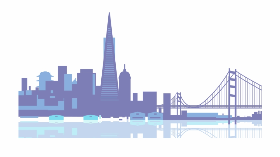 San francisco skyline clipart clipart images gallery for.
