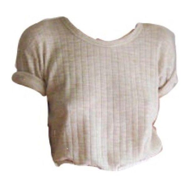 Beige shirt polyvore moodboard filler.