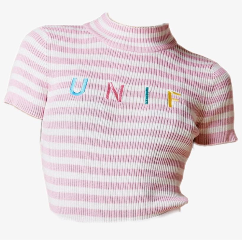 Polyvore Clothes Shirt Unif Pastel.