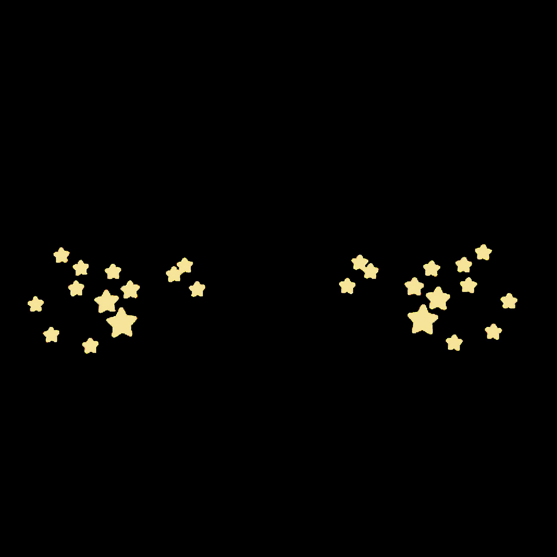 Star Image Kawaii Sticker Aesthetics.