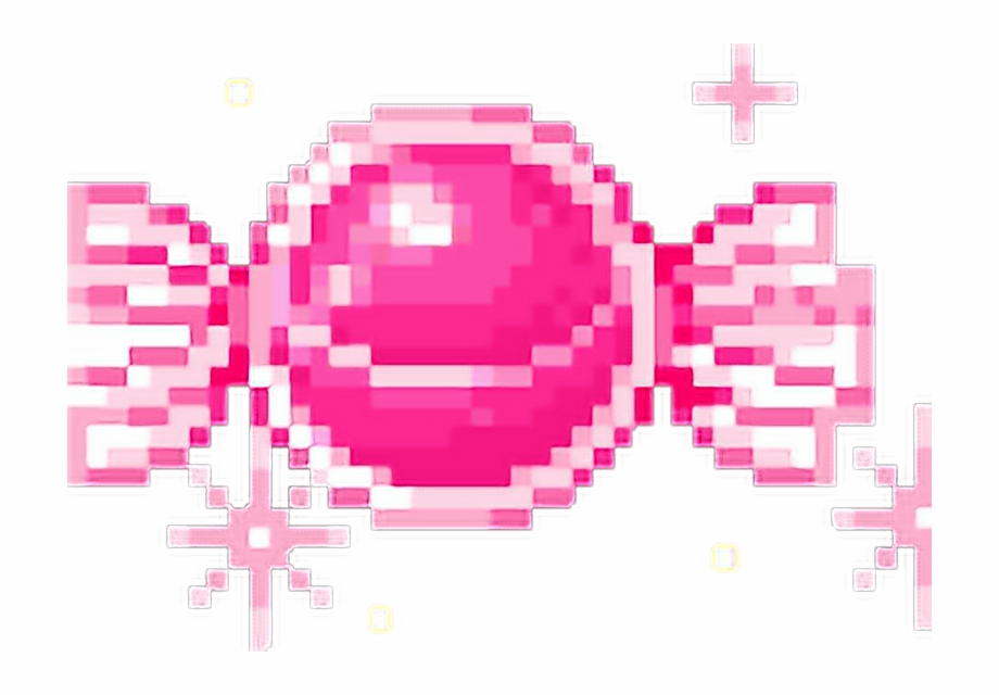 Aesthetic Tumblr Candy Pixel Pink Stars Freetoedit Candy.