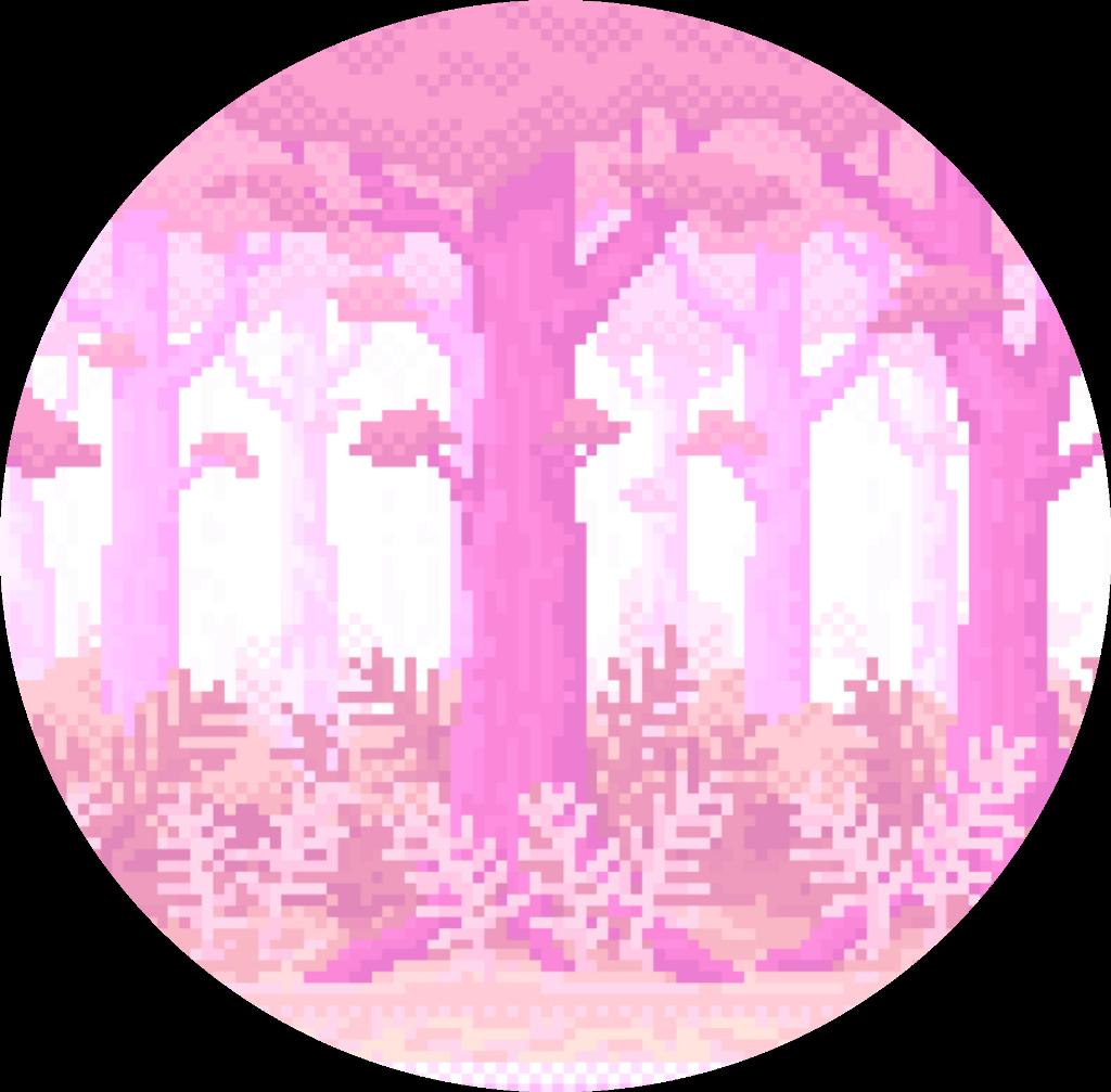 pixel aesthetic vaporwave tumblr pink cute background.