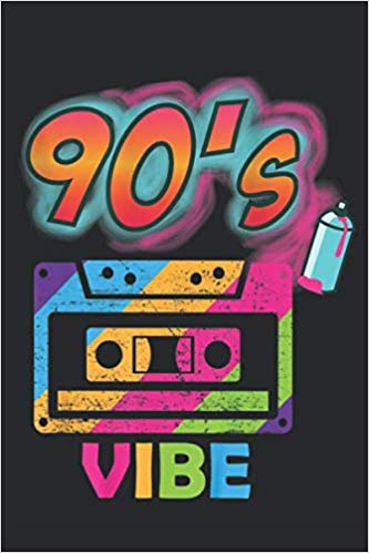 Retro Aesthetic Party Vibe 90s Oldschool Journal: Party Vibe.