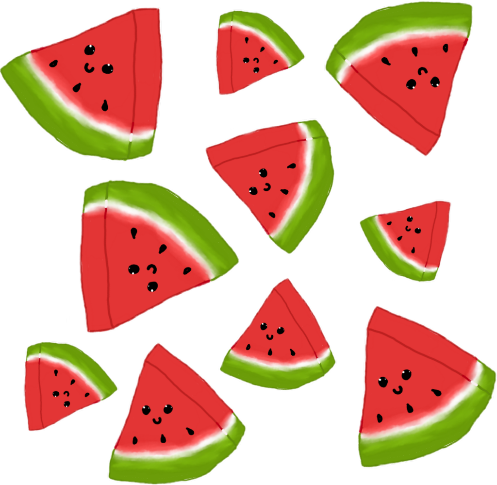 watermelon redaesthetic red aesthetic cute kawaii.