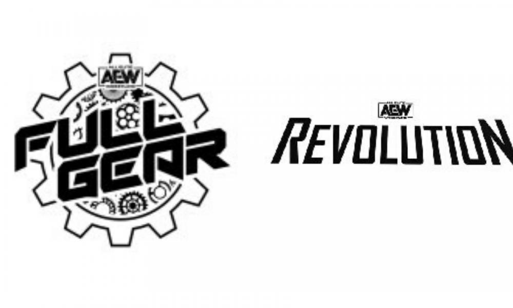 AEW Trademarks AEW Revolution, Plus Full Gear Logo.
