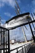 Picture of Af Chapman ship at Flaggmansvagen, Skeppsholmen.