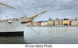 Pictures of Historical ship ''AF Chapman'' in Stockholm, Sweden.