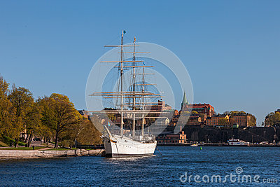 Af Chapman, A Beautiful Old Sailing Ship Now A Hostel Editorial.