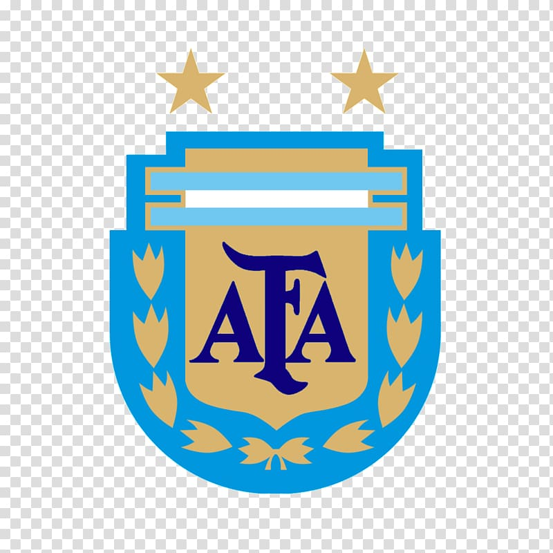 AFA logo, Argentina national football team FIFA World Cup.