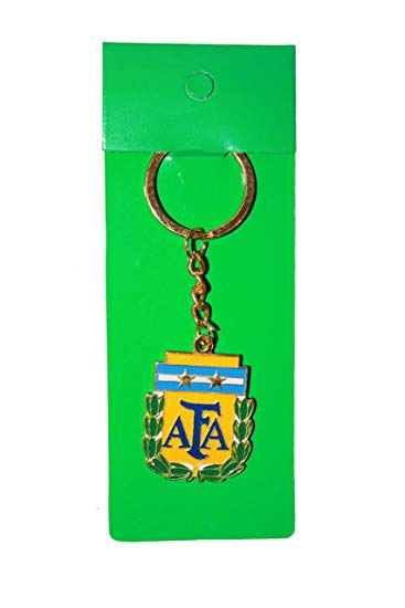 Argentina AFA Logo FIFA Soccer World Cup Keychain New.