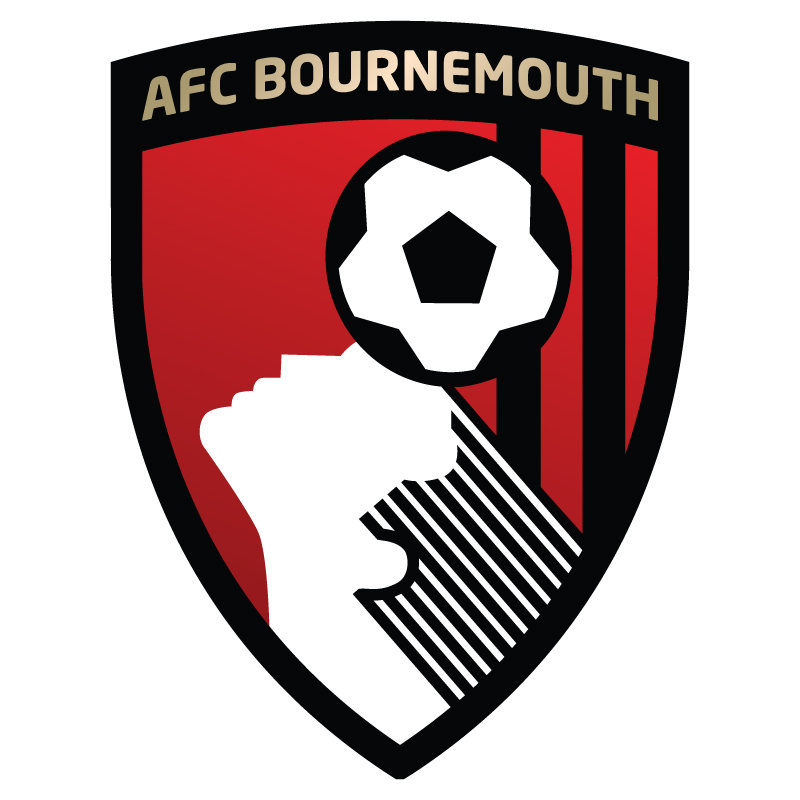 Bournemouth FC logo vector.