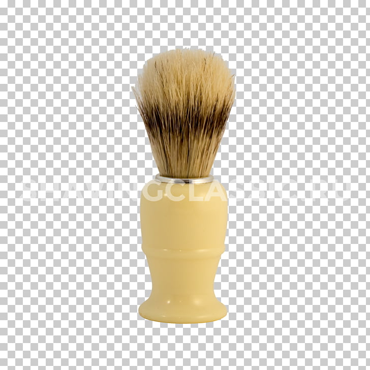 Afeitarse el cepillo afeitarse el rastrojo de cerdas.