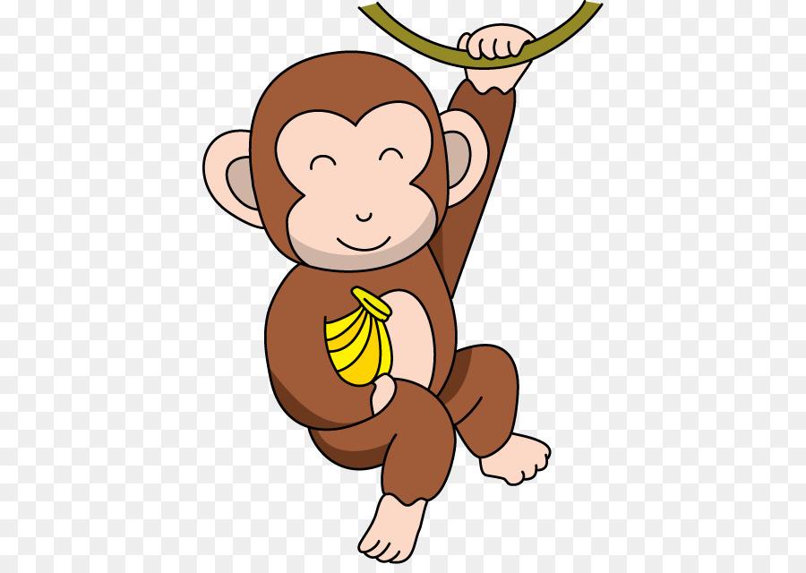 Baby Monkeys The Evil Monkey Clip Art Cartoon Cliparts Png Cheerful.