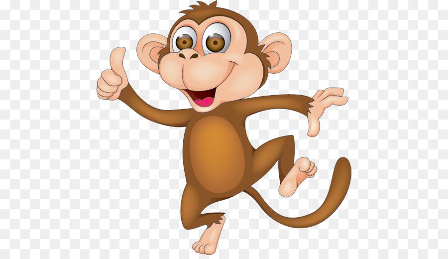 Cartoon Royalty free Monkey Clip art.