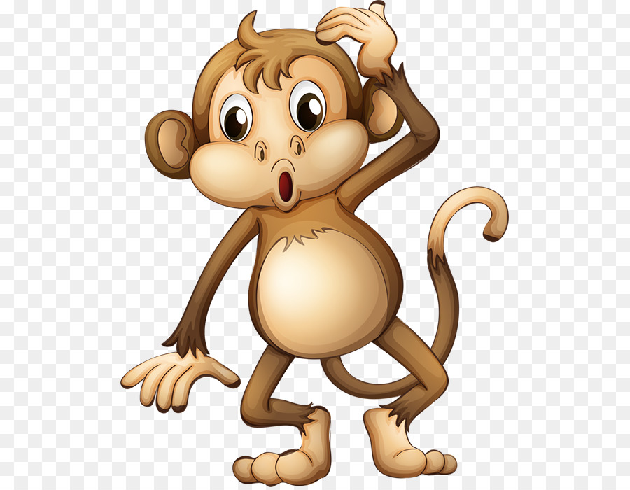 Baby Affen clipart.
