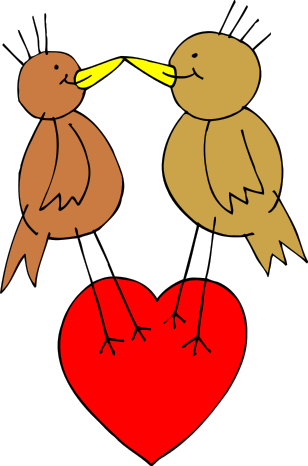 Free True Love Clipart, 1 page of Public Domain Clip Art.