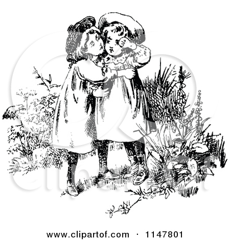 Royalty Free Stock Illustrations of Sisters by Prawny Vintage Page 1.