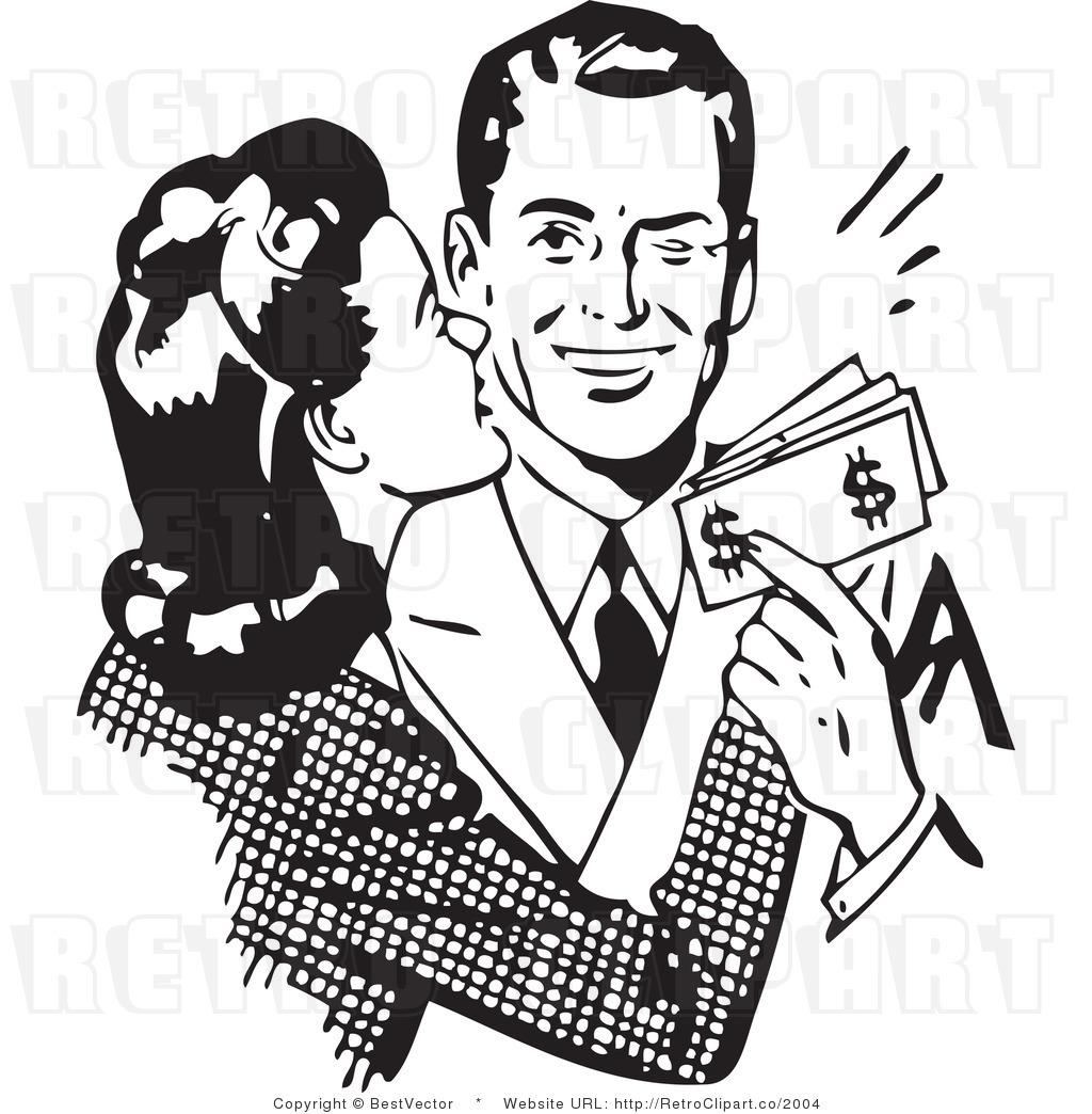 Rich Black Person Clipart.