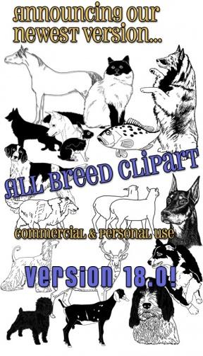 Free Dog Breed Clip Art, Affenpinscher Dog Image, Affenpinscher.