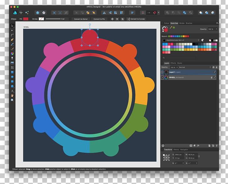 MacOS Color Affinity Designer, others PNG clipart.