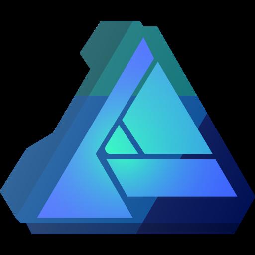 Affinity, brand, brands, designer, logo, logos icon.