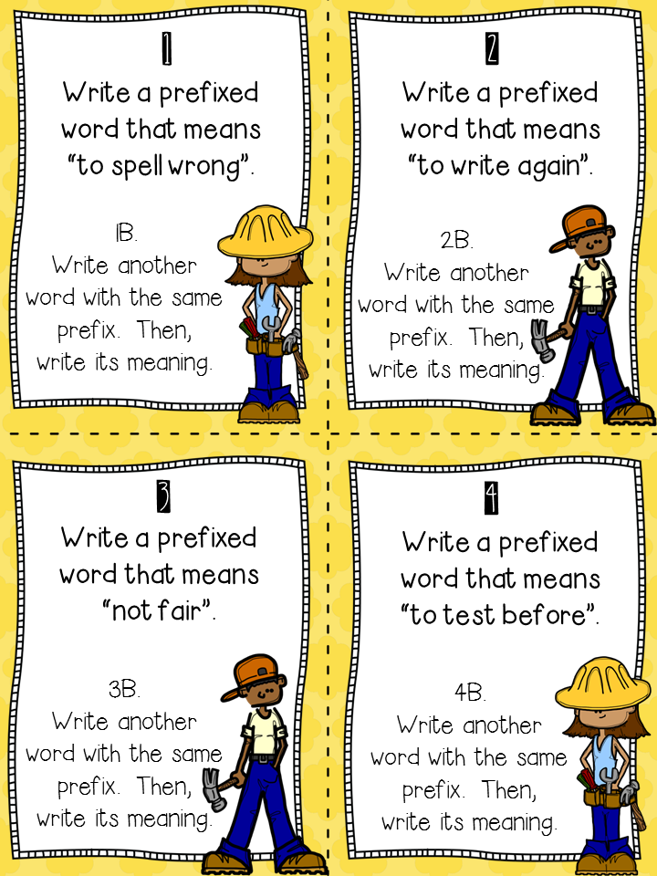 Crafting Connections: Prefixes and Suffixes Anchor Chart {plus.