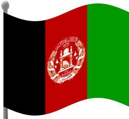 Clipart afghanistan flag.