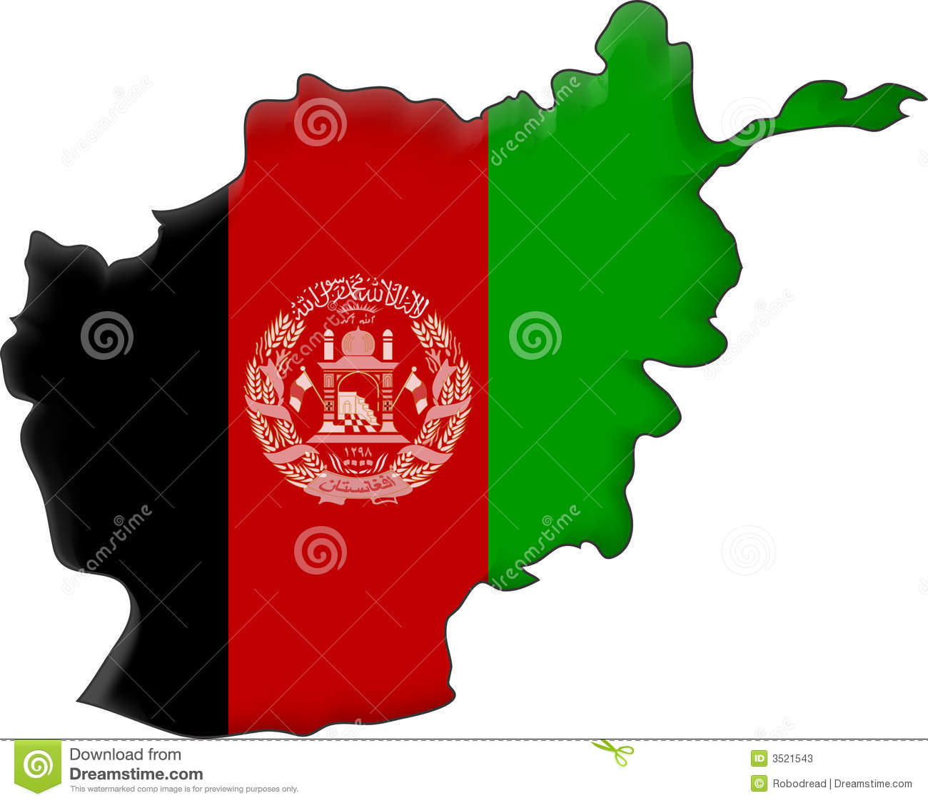 Afghan Stock Illustrations.