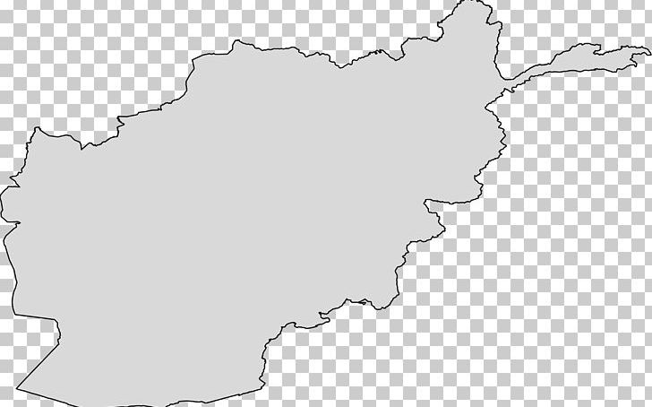Afghanistan Map Black And White Tree PNG, Clipart.