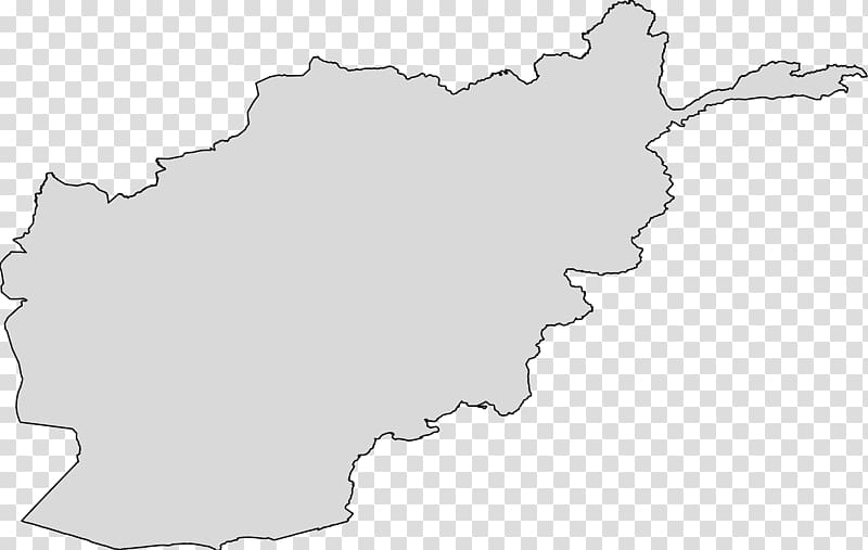 Flag of Afghanistan Blank map , country transparent.