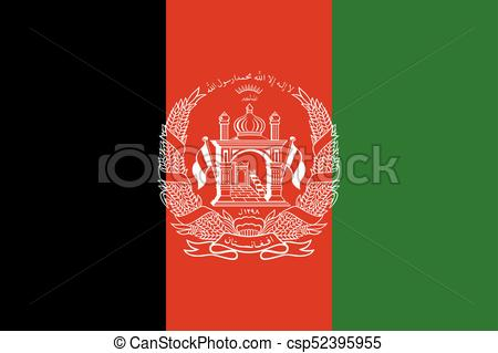 Flag of Afghanistan.