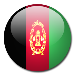 Button Flag Afghanistan Icon, PNG ClipArt Image.