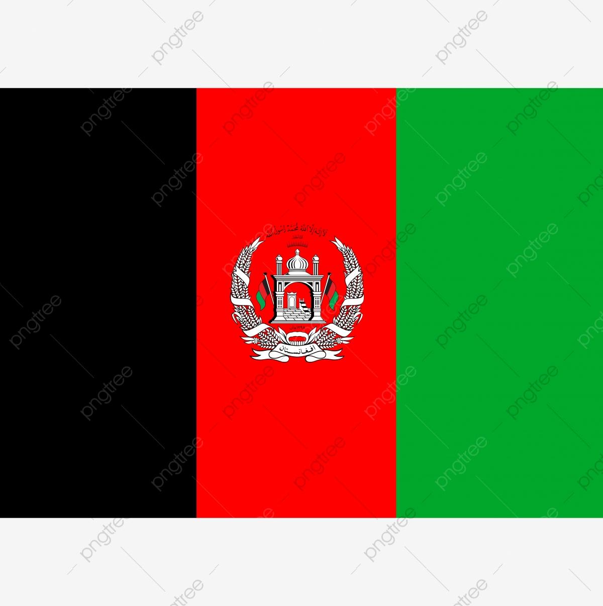 Afghanistan Flag, Flag, Afghanistan, A PNG Transparent Clipart Image.