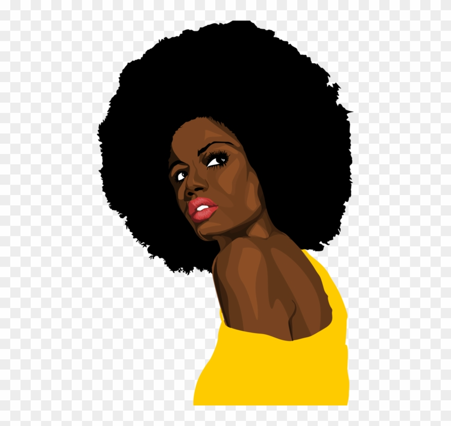 African Americans Black Woman Female Art.