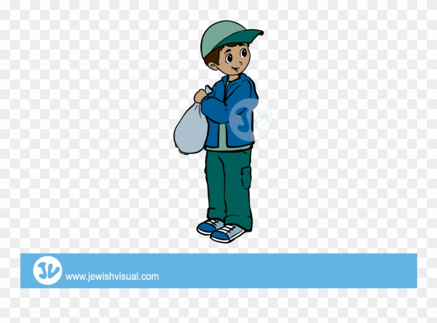 Boy Hiding The Afikomen Clipart (#2546348).