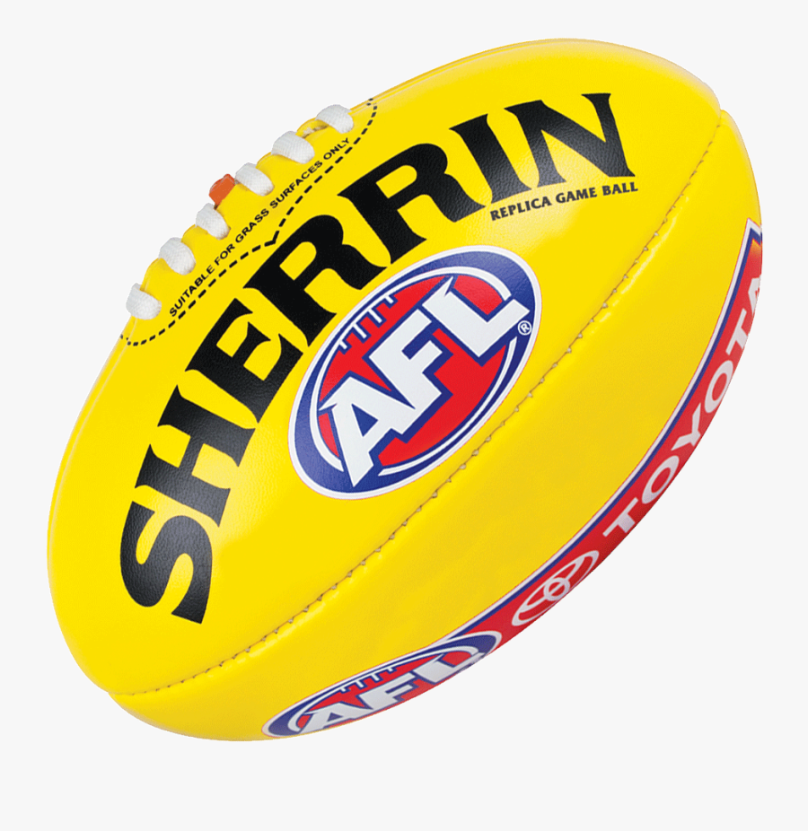 Sherrin Afl Ball Png , Free Transparent Clipart.
