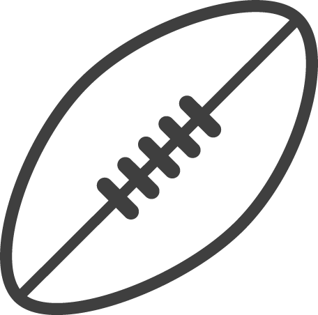 Football black and white afl football clipart black and white.