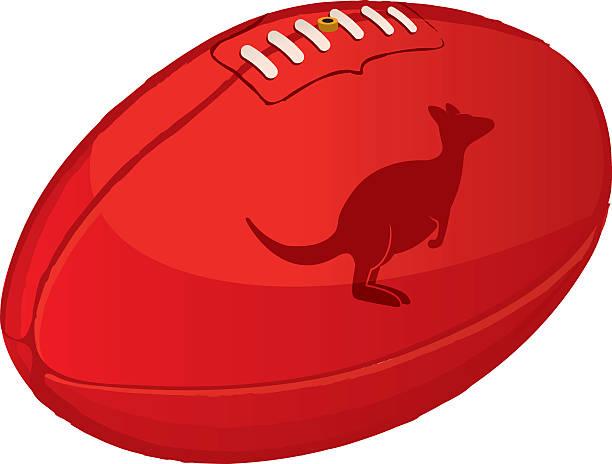 Best Australian Rules Football Illustrations, Royalty.