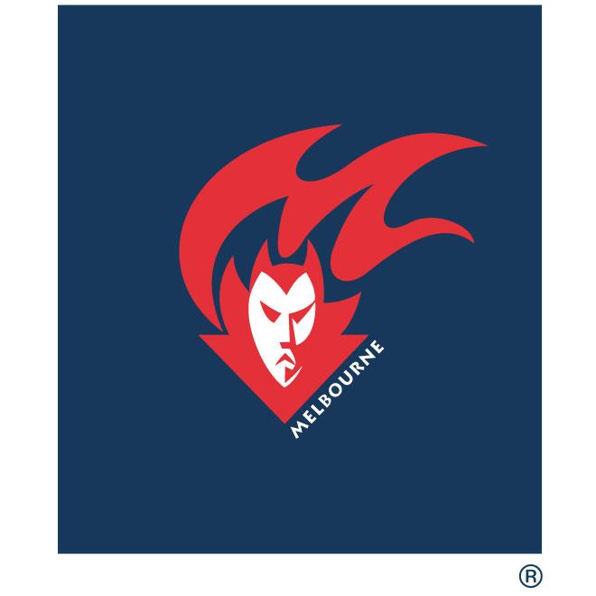 Melbourne AFL logo.