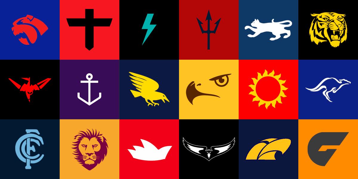 AFL sports logos.