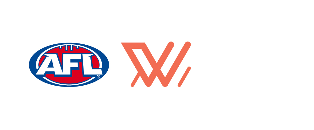 Brand New: New Logo for AFL Women's by PUSH Collective.