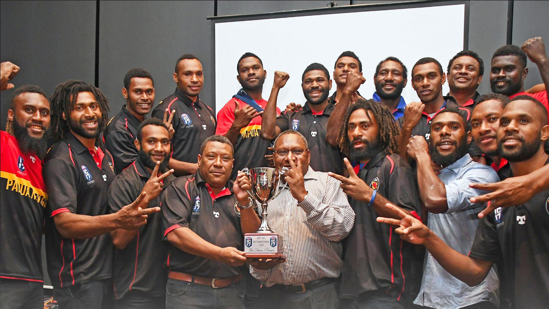 AFL PNG calling for recognition.