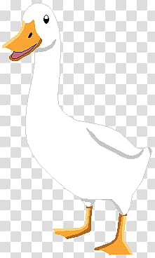 The Aflac Duck transparent background PNG clipart.